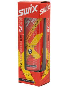 Клистер SWIX  Red Extra Wet  +2/+15    со скребком KX75