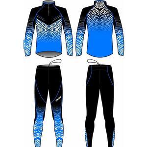 Комбинезон KV+ TORNADO 2 pieces suit blue/black 20V117.2