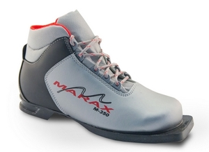 Бег.ботинки MARAX M 350 серый 75мм