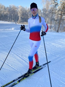 Комбинезон NONAME XC RACING SUIT 21 WOS NATIONAL бел./син./красн.