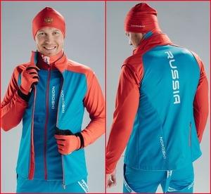 Жилет NORDSKI Premium Blue/Red NSM438879