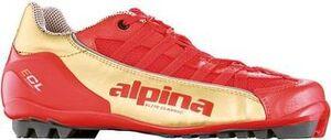 Бег.ботинки ALPINA ECL SUMMER 5760-1 красн/золот., классич., для лыжероллеров