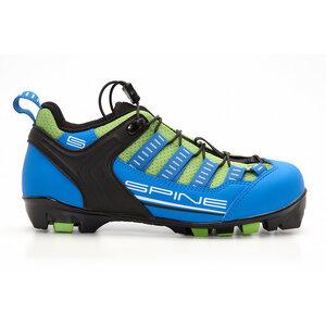 Бег.ботинки SPINE Skiroll Classic (11) для лыжероллеров NNN (р.43, син/черн/салатовый)