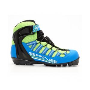 Бег.ботинки SPINE Skiroll Combi (14) для лыжероллеров NNN (р.45, син/черн/салатовый)