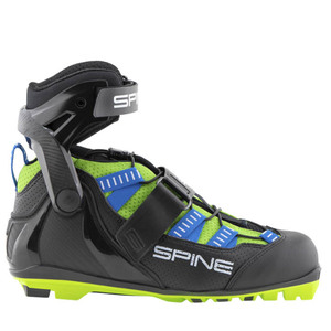 Бег.ботинки SPINE Skiroll Skate Pro (18) для лыжероллеров NNN (р.46, син/черн/салатовый)