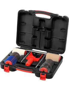 Роторные Щётки SWIX WC (чемодан):T15DB, T15HS, T18F-2, T18C рукоядка + к.