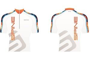 Футболка SPINE PRO гоночная PRO 14043 белый/оранжевый (14043) (р.56)