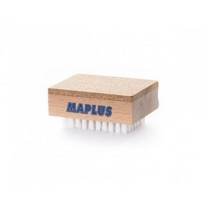 Щетка MAPLUS из пробки/нейлона для жидких и порошковых продуктов 75x55x34мм, MTO111