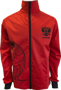 Куртка soft-shell STIK красная (р.ХХL)