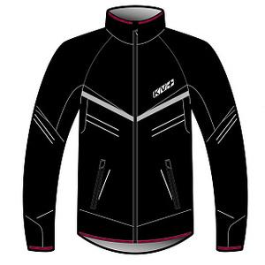 Костюм разминочный KV+ PREMIUM jacket black 9V145.1 (р.ХL)