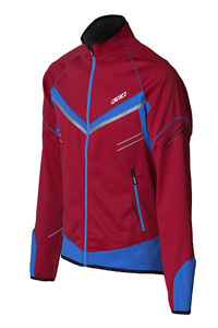 Костюм разминочный KV+ PREMIUM jacket bordeaux\blue 9V145.6 (р.ХL)