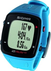 Пульсометр SIGMA ID.RUN HR PACIFIC BLUE 24910, син,часы с GPS