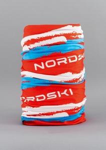 Бандана NORDSKI Stripe NSV409987 (Red\Blue)