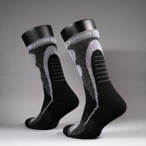 Носки NordSki Wool р. NSV422201 (43-46, black/grey)
