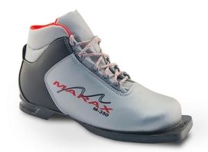 Бег.ботинки MARAX M 350 серебр.синий 75мм (р.47)