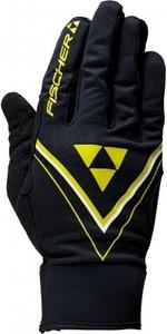 Перчатки FISCHER XC RACE JR G90516J (р.6, черн/жел)