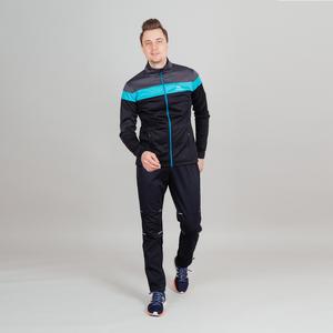 Куртка разминочная NORDSKI Drive Black/Blue NSM805170 (р.ХS)