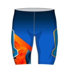 Шорты SPINE PRO гоночные (11605) (р.52, синий/оранжевый)