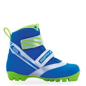 Бег.ботинки SPINE NNN Relax (115)  (синий/зеленый) (р.34)