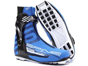 Бег.ботинки SPINE NNN Carrera Carbon Pro (598-M) (черный/синий) (р.44)