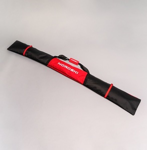 Чехол NORDSKI NSV131195, 195см, на 1 пара лыж, темн. красн.
