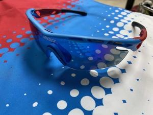 Очки спорт. KV+ SPRINT Glasses blue\red 2 lens SG11.12