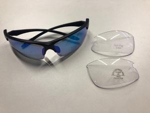 Очки спорт. KV+ VERTICAL Glasses blaсk\white 2 lens, SG13.12