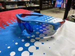Очки спорт. KV+ TICINO Glasses blue\red 2 lens, SG14.12
