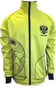 Куртка soft-shell STIK салатовый (р.XS)