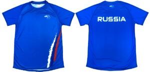 Футболка STIK Россия синий