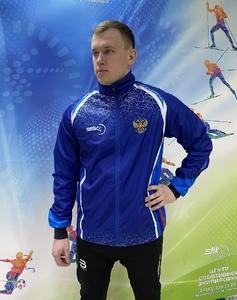 Куртка ветрозащитная STIK сине-голубая (р. М)