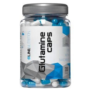 Глютамин капс./Glutamine Powder RLINE 200 caps.