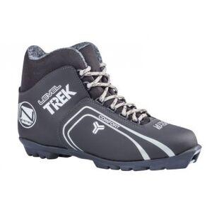 Лыжные ботинки  TREK Level 4 чер/сер 4.11-06.M.N NNN  (р.44)