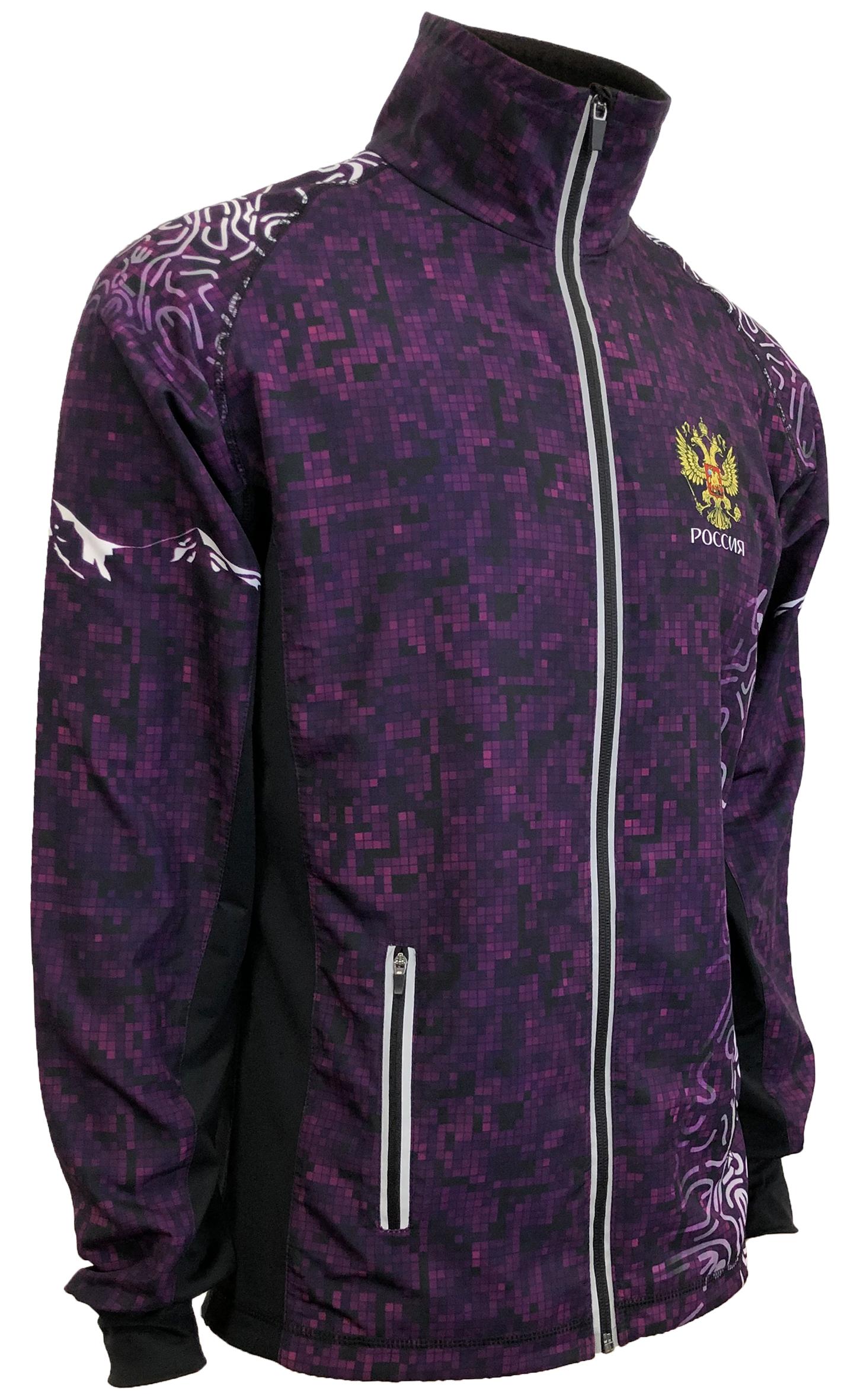Разминочная куртка
